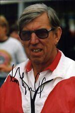 Ken Tyrrell Formel 1 F1 Motorsport Original Autogramm Autograph Foto (O-3980