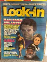 LOOK-IN COMIC # 9 25TH FEBRUARY 1978 MAN FROM ATLANTIS SPACE 1999 GERRY ANDERSON