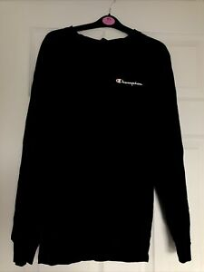 Champion Navy Blue Long sleeve t shirt. Size Small. Used In Great Condition.