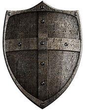 Encadrée Imprimer-médiéval croisade Saint bouclier de bronze (photo Art King Arthur)