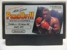 MIKE TYSON'S PUNCH OUT TYSON NINTENDO FAMICOM FC NES FAMILY COMPUTER JAPAN