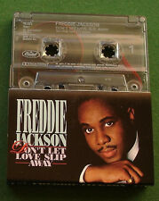 Freddie Jackson Don't Let Love Slip Away inc Hey Lover + Cassette Tape - TESTED