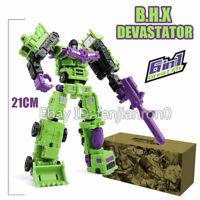 Devastator Transformers 6In1 GT Mini Engineering Vehicle Robot Action Figure Toy