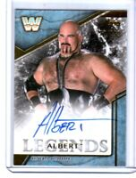 WWE Albert 2017 Topps Legends Authentic Autograph Card SN 160 of 199