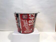 PILSNER URQUELL BEER 5QT LOGO METAL ICE BUCKET COOLER NEW