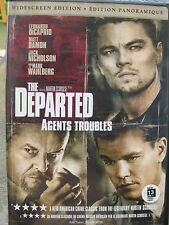 THE DEPARTED AGENTS TROUBLES DVD MATT, DAMON DICAPRIO,NICHOLSON  ...