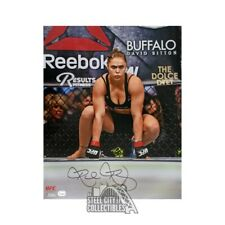 Ronda Rousey Autographed UFC 16x20 Photo - Fanatics Hologram (Vertical)