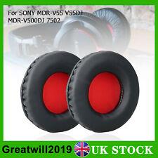 2X Ear Pad Cushions Replacement For Sony MDR-V55 MDR-V500DJ V55DJ 7502 Headphone