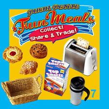 Rare! Re-ment Miniature Fun Meals No.7 Morning Grab n' Go