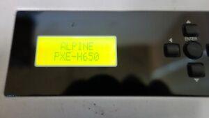 Alpine PXE-H650 Retro Oldschool System Integration Audio Processor. SQ!