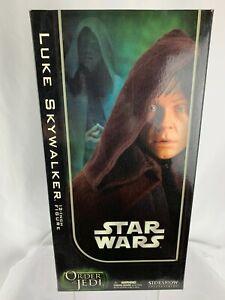 Star Wars 2008 Sideshow Luke Skywalker Order Of The Jedi 1:6 Figure #2104 NEW