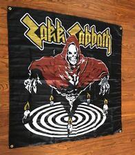 ZAKK SABBATH FLAG BANNER POSTER 4 FT X 4 FT wylde bls black label society