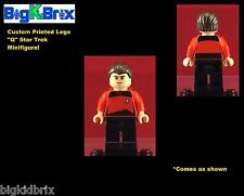 Q Star Trek Villain Custom LEGO Minifigure NO DECALS USED!