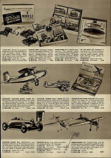 1955 PAPER AD Toy Cleveland Luscombe Sedan Model Airplane Boeing Ohlsson & Rice