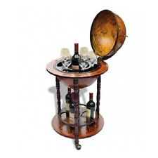 Globe Mini Bar Wine Rack Bottles Racks Glass Bottle Container Storage Cabinet