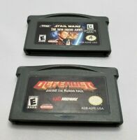 Star Wars:The New Droid Army & Defender Nintendo Game Boy Advance GBA