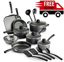 Cookware Set 18 Piece Pans Pots Stainless Steel Nonstick Kitchen Cooking Dutch