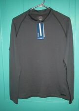 Reebok Black Active Long Sleeve Top size large NWT