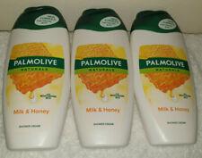 Palmolive Milk & Honey Shower Gel 250ml x3