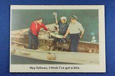 1959 Fleer - 3 Stooges - #19 Hey fellows, I think I've got a bite. - Ex/Mt