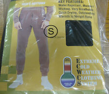 Military Polypropylene Thermal Long Underwear Bottoms  -  Men's Size XL