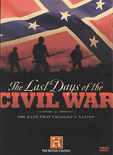 Last Days of The Civil War 2 DVD Set History Channel 2003 New Sealed