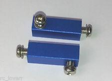 alloy SERVO mount for tamiya M03,WR02,TL01,WT01,wild willy 2,twin detonator,BLUE