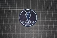 UEFA CHAMPIONS LEAGUE WINNER BADGES / PATCHES 2009