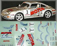 Porsche Carrera Cup Motul #3 1:18 Decal