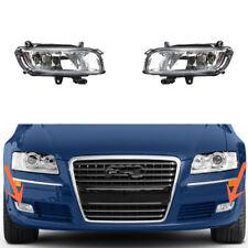 Apto para AUDI A8 D3 Parachoques Delantero Halógeno Luz De Niebla Parrilla Rejilla Lámpara /& Negro Brillante