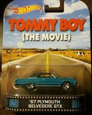 Hot Wheels ( Movie Car -Tommy Boy )-1980's Movie / 67 Plymouth Belvedere GTX )