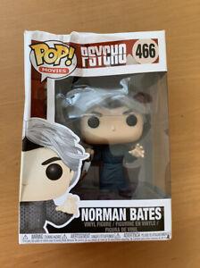 Funko Pop Movies Psycho #466 Norman Bates Vinyl Character Figure Collectible
