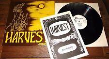 Jon Raven ~ raccolto ~ UK bordata FOLK LP con LIBRETTO ~ Nigel mazlyn Jones