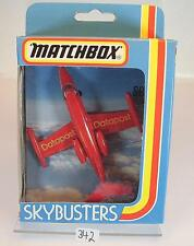 Matchbox Sky-Busters Skybusters SB-1 Lear Jet Datapost OVP #342