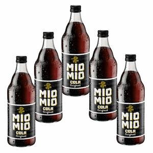 Mio Mio Cola Original 5 Flaschen je 0,5l