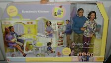 60+pc HAPPY FAMILY GRANDMA KITCHEN  BARBIE DOLL Grandpa for Midge Ryan Alan