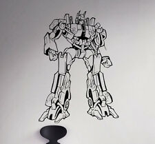 Transformers Wall Decal Optimus Prime Vinyl Sticker Removable Art Decor 80(nse)