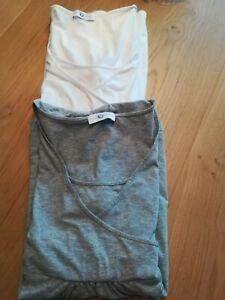 2 x Stilltop / Stillshirt / Stilloberteil - Gr. 40/42  L Neun 9 Monate