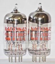 6N23P ECC88 NATIONAL/VOSKHOD TUBES MATCHED PAIR NOS E88CC 6DJ8 6922 1970's TEST