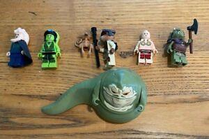 LEGO Star Wars Jabba The Hutt's Palace Minifigure Lot. RARE! HARD TO FIND!