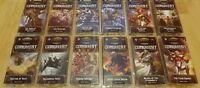Warhammer 40,000 Conquest LCG Warlord/Planetfall (All 12x War Pack) Lot FFG 40k
