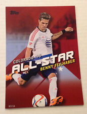2016 Topps MLS All-Star Colorado 5x7 (#/10 Made) BENNY FEILHABER KC Sporting