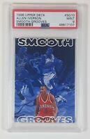 Allen Iverson 1996-97 Upper Deck Rookie Card Smooth Grooves SP PSA 9 PSA POP 5