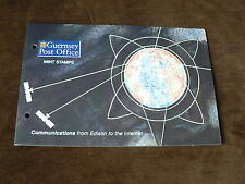 Guernsey Presentation Pack 1997, Communicatioins, Edison to Internet, Mint, MNH