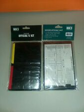 Lot Of 2 Referee Soccer Kits Yellow Card Red Card Score Cards Pen Wallet