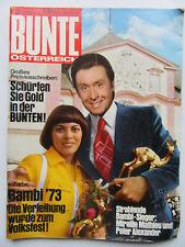 Bunte Österreich 19/1973, Mireille Matthieu, Peter Alexander, Daliah Lavi,