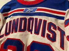 NHL New York Rangers Reebok RbK EDGE Authentic Henrik Lundqvist Jersey