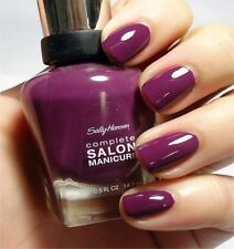 NEW! Sally Hansen Complete Salon Manicure nail polish TROUBLE MAKER #500 Purple
