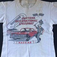 1960s Vintage DAYTONA 500 INTERNATIONAL SPEEDWAY NASCAR ~ kids T-Shirt ~ NASCAR
