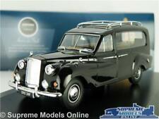 AUSTIN PRINCESS HEARSE MODEL CAR 1:43 SCALE FUNERAL OXFORD APH001 BLACK K8